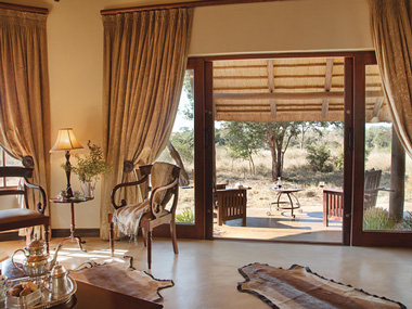 Luxury Suite Patio Kings Camp Timbavati Game Reserve Accommodation Booking Hoedspruit Mpumalanga Five Star