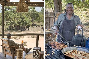 Safari breakfast Tanda Tula Safari Camp Timbavati Game Reserve Mpumalanga Luxury South African Safari